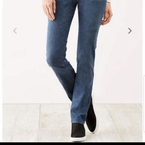 J. Jill Straight leg jeans